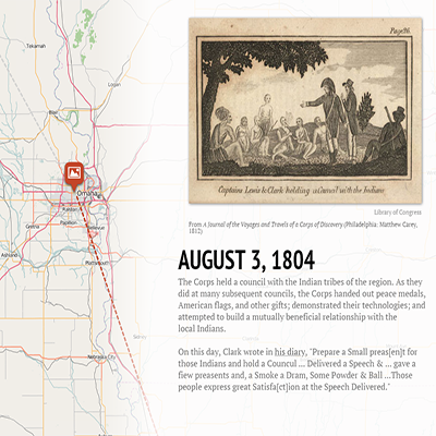 Lewis and Clark StoryMap
